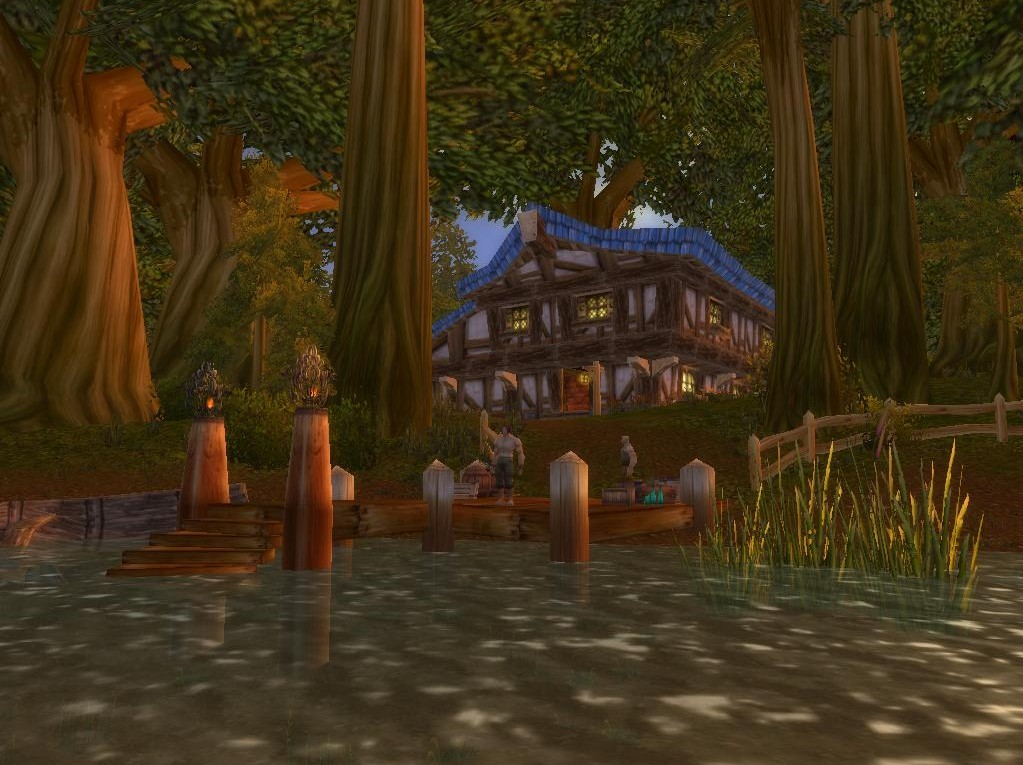 Play Now. Episode #19 Timecapsule: A quick re-visit to the Goldshire Haunt